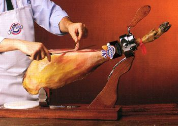 cortar jamón paso 2