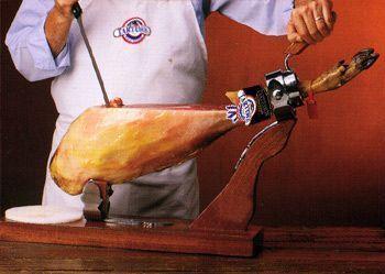 cortar jamón paso 3
