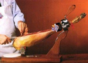 por donde se empieza a cortar un jamon