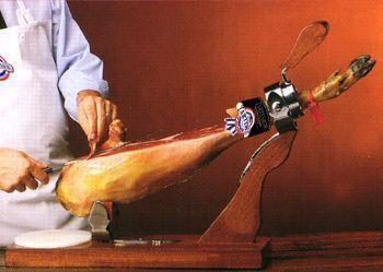 cortar jamón-paso
