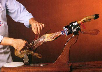 cortar jamón paso 5