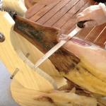 corte de paleta iberica a cuchillo