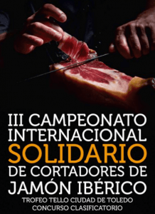 Campeonato Internacional Solidario de Cortadores de Jamón de Toledo