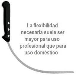 cuchillo jamonero flexible
