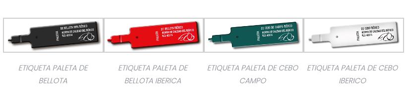 Etiquetas Jamón