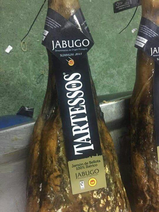 Jamon Iberico de bellota 100% iberico