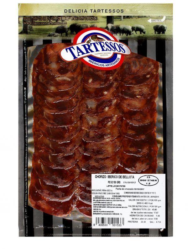 Loncheado de Chorizo de Lomo Ibérico Cular
